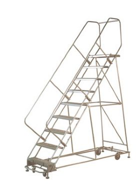 """MULTI ""DIRECTIONAL"" ROLLING STEEL LADDERS"