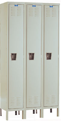 CORROSION & RUST RESISTANT LOCKERS