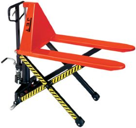 JET HYDRAULIC HIGH LIFT PALLET TRUCK