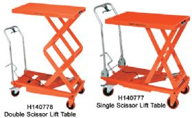 JET HYDRAULIC SCISSOR LIFT TABLES