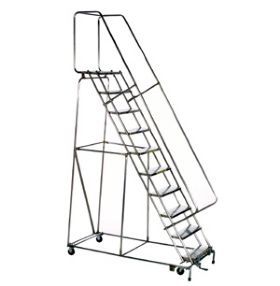 STAINLESS STEEL-LOCKSTEP LADDERS