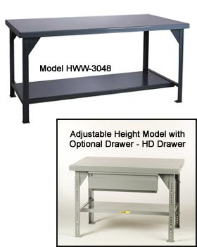 10,000 LB. CAPACITY WELDED WORKBENCHES