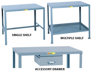 WELDED MACHINE TABLES