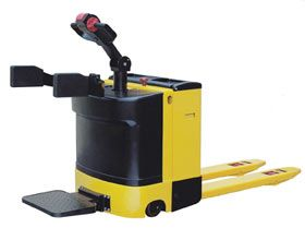 """RIDE-ON"" SELF-PROPELLED PALLET TRUCK"