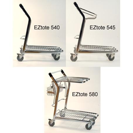 EZtote 500 Series Utility Carts