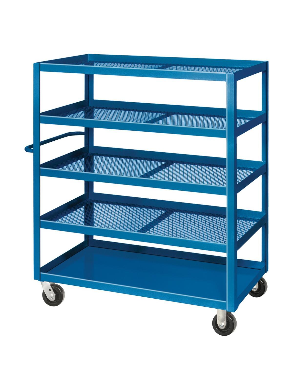 Expanded Metal Stock Cart Nationwide Industrial Supply Llc