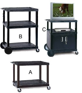 UL LISTED TV CARTS