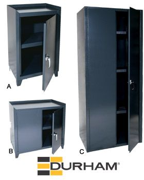 ALL WELDED INDUSTRIAL STORAGE CABINETS