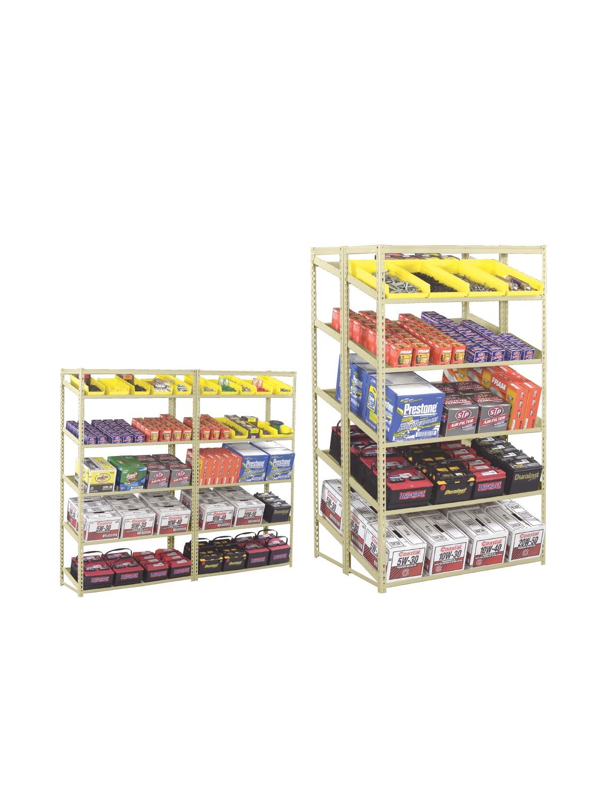 Tennsco Sloping Shelf Units At Nationwide Industrial