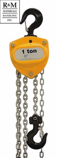 RM SERIES II MANUAL CHAIN HOIST
