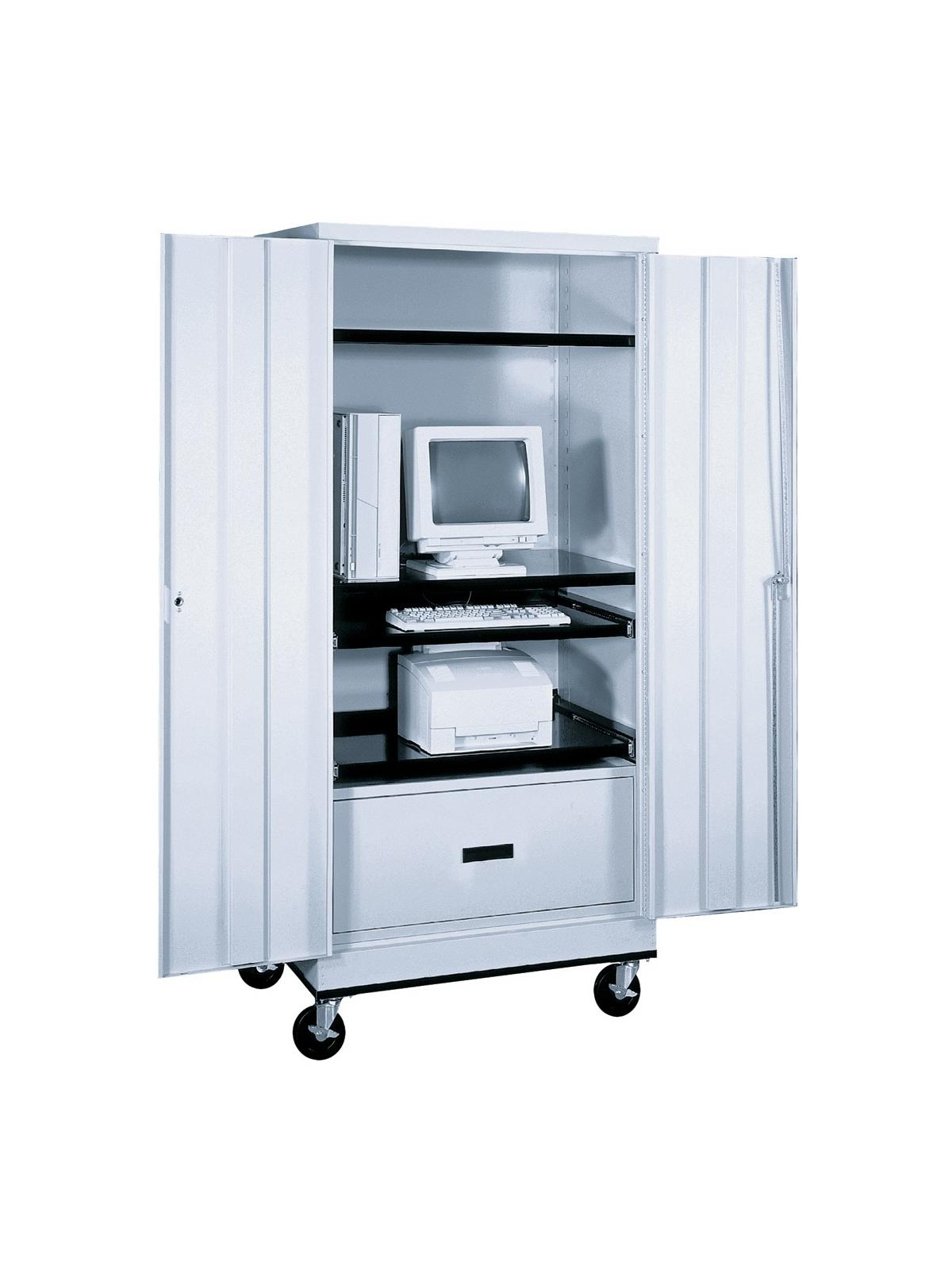 Mobile Computer Cabinet At Nationwide Industrial Supply Llc