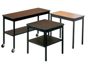 NON-FOLDING UTILITY TABLES