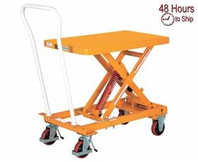 SELF-ELEVATING LIFT CART