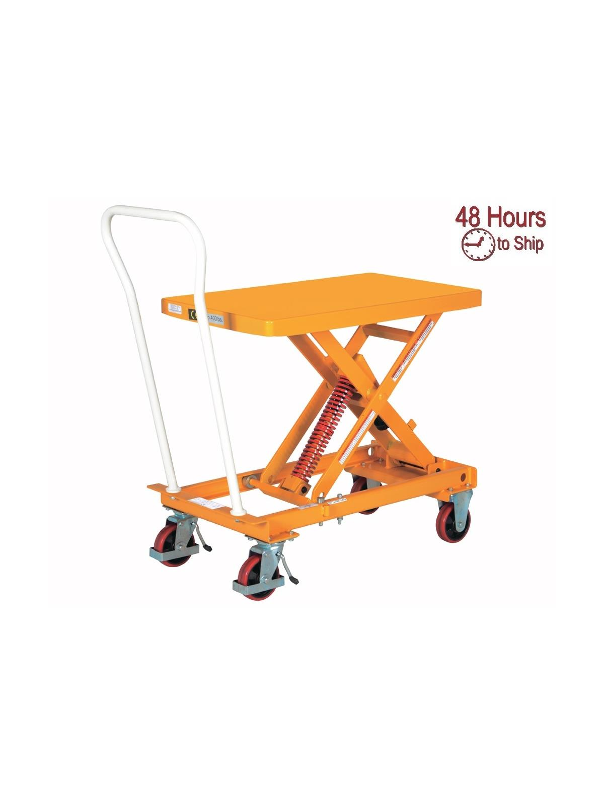 Self Elevating Lift Cart At Nationwide Industrial Supply Llc