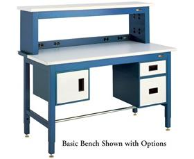 BASIC WORKBENCH WITH ESD OPTION
