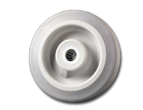 THERMOPLASTIC/RUBBER WHEELS