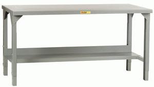 Adjustable Height Welded Workbenches