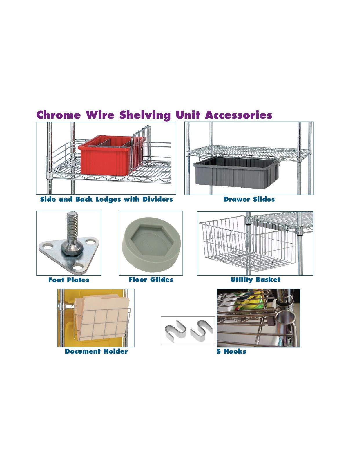 Wire Shelving Parts Amp Accessories At Nationwide Industrial