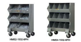 PICK RACK SYSTEMS · MOBILE STORAGE BINS