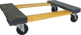PROSERIES�  CARPETED WOOD DOLLY