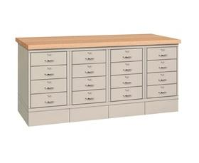 16 DRAWER BASE WORKBENCH