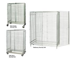 Wire Security Cart