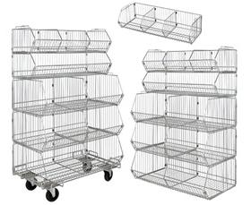 Wire Basket Rack