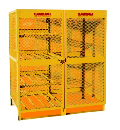 Model CX - Gas Cylinder Cabinet - Vertical  & Horizontal