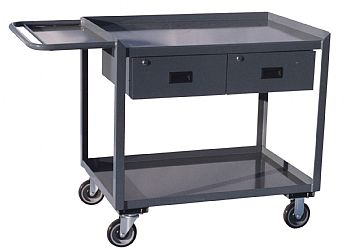 Model SV - Repair Cart With Tool Tray & 2 Drawers