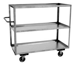 Model XC - Stainless 3 Shelf Truck