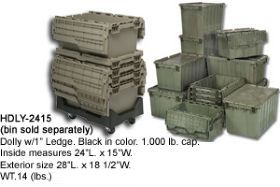 HEAVY DUTY ATTACHED TOP CONTAINERS
