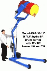 MORSE DRUM HYDRA-LIFT DRUM LIFTER AND POURER