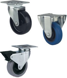 LIGHT DUTY SWIVEL & RIGID CASTERS