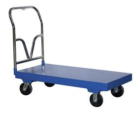 V HANDLE STEEL PLATFORM TRUCKS