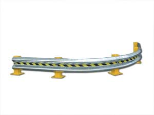 90 Deg: Curved Guard Rail