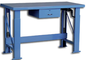 HYDRAULIC WORKBENCH / ELECTRIC LIFT OPTION