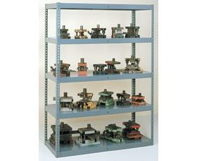 HIGH-CAPACITY EASY-TO-ASSEMBLE SHELVING