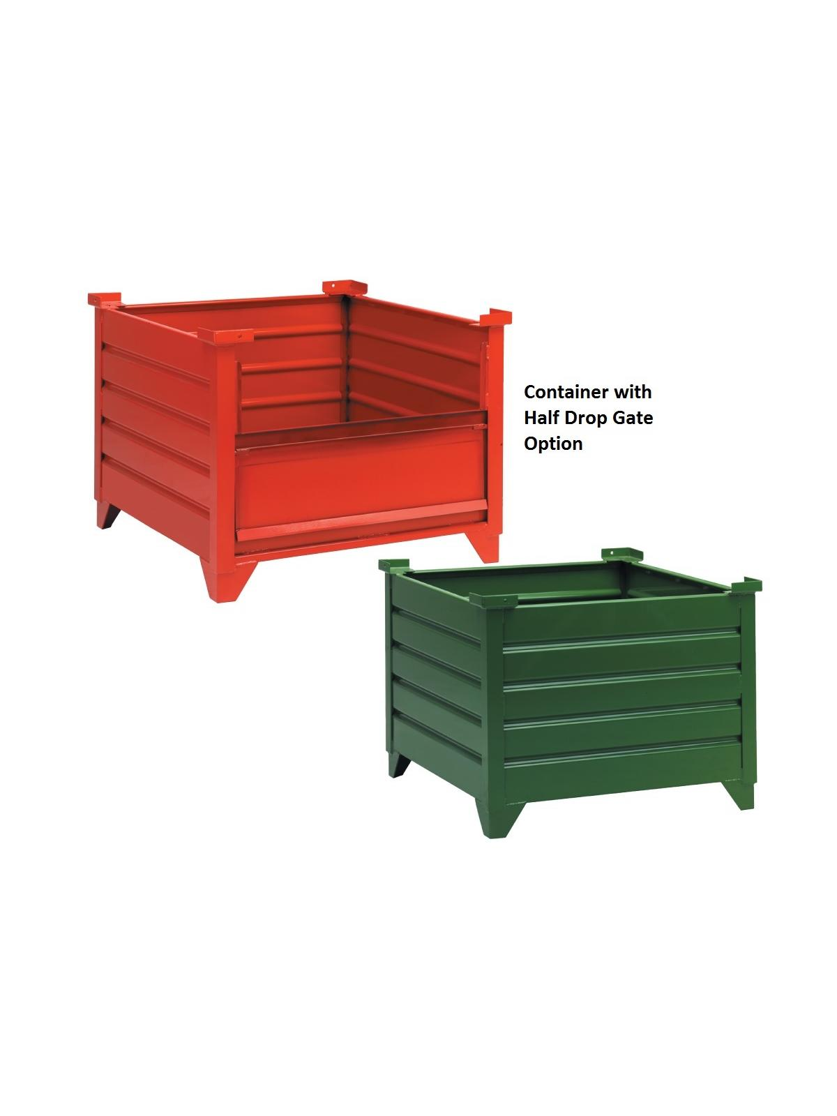 Corrugated Steel Containers Nationwide Industrial Supply