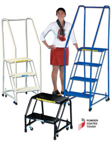 COLORFUL ALUMINUM OFFICE LADDERS