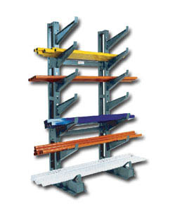 BUTTON-ON CANTILEVER RACK