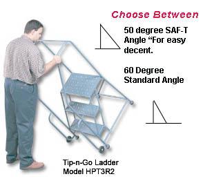 STANDARD & SAF-T ANGLE TIP-N-GO LADDERS