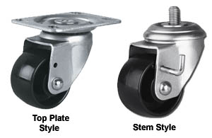 MEDIUM DUTY LOW PROFILE SWIVEL CASTERS
