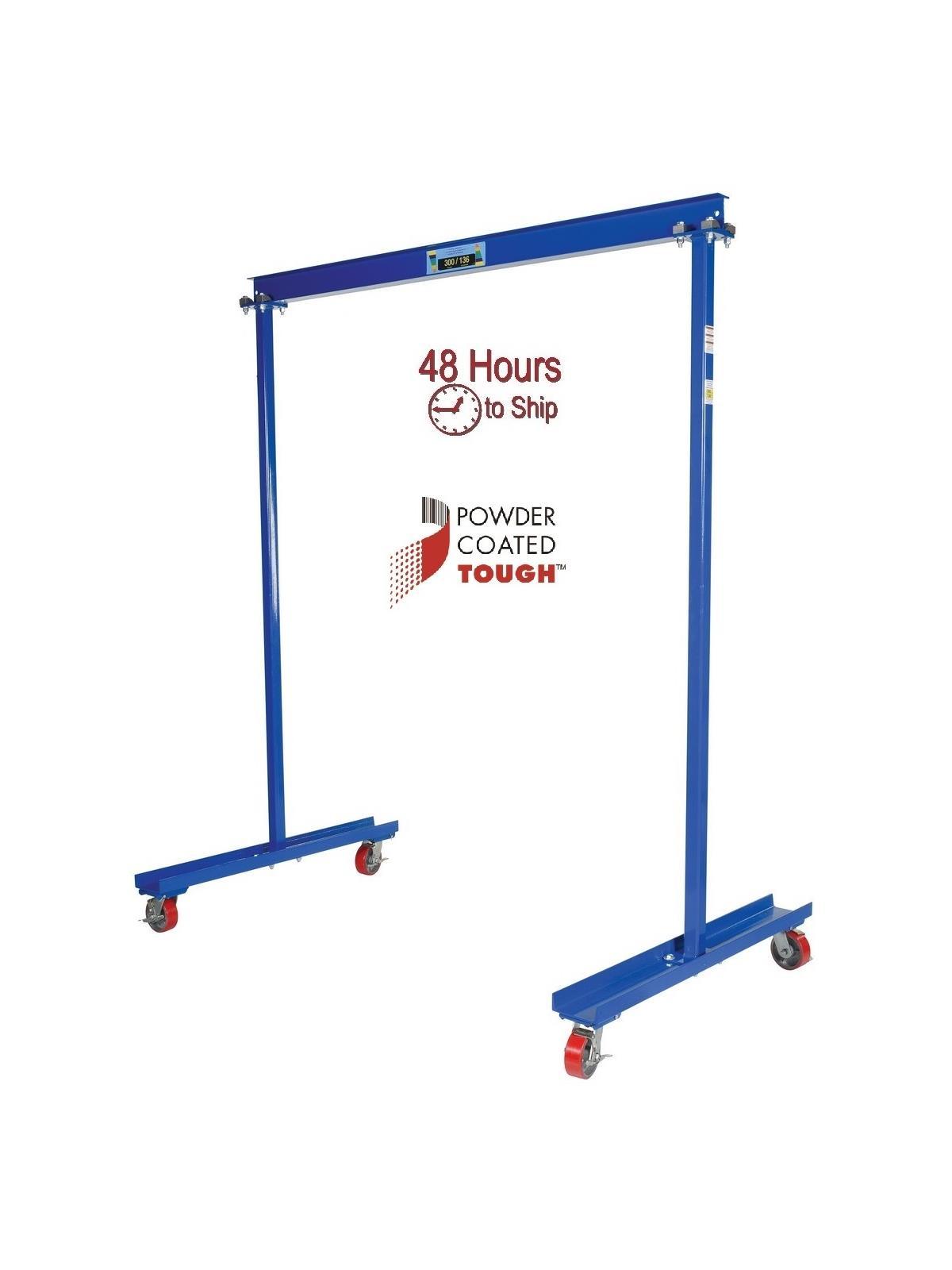Portable Hydraulic Jib Crane : Vestil manufacturing portable gantry crane mfg