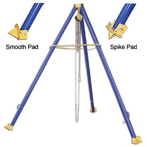 TRIPOD HOIST STANDS