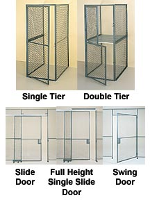 ALL WELDED STORAGE LOCKERS, STORAGE LOCKERS