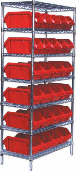 QUICK PICK WIRE SHELVING COMPLETE PACKAGES
