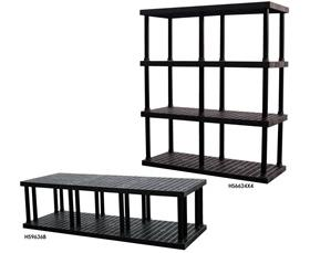 DURA-SHELF PLASTIC BULK SHELVING