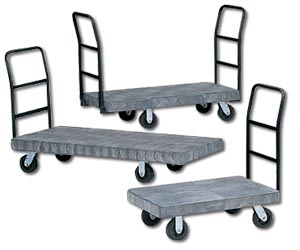 Rugged Duty Platform Trucks