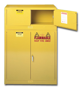 PIGGYBACK FLAMMABLE CABINET