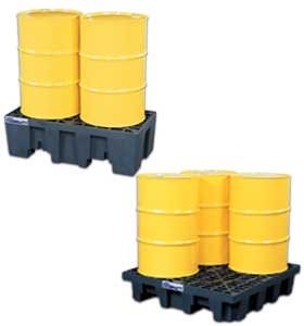 SPILL CONTROL PALLETS